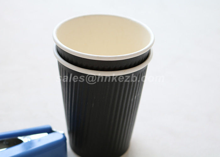 Ripple Wall Vending Machine Disposable Espresso Coffee Cups 200ml-500ml